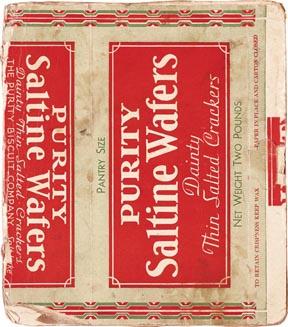Saltine Wafers Book