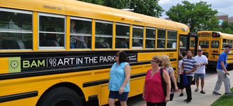 Art in the Park - shuttles & parking