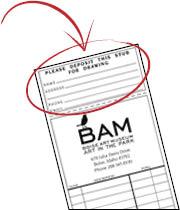 aip raffle receipt