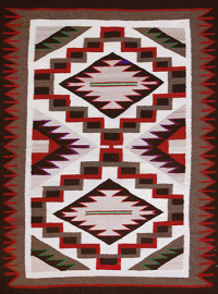 Artist Unknown, Klagetoh Rug